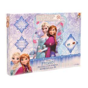 Puzzle-Con-Forma-48-Piezas-Efecto-3D-Frozen-1-14793