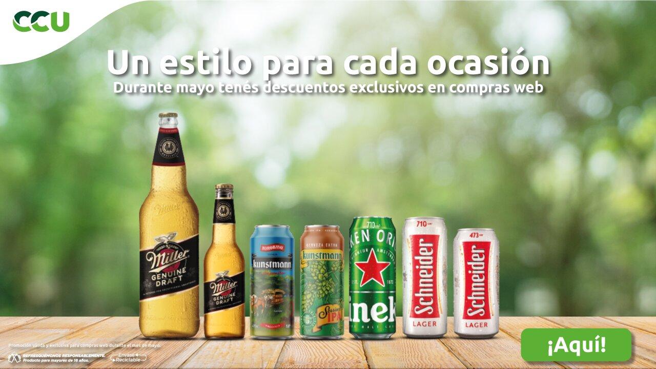 Promoción cervezas CCU