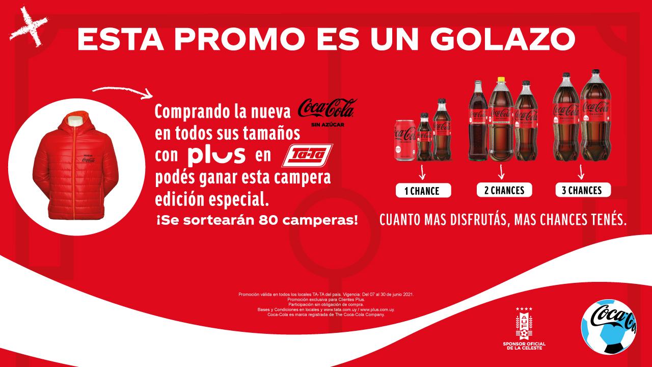 Promo Campera - Coca Cola