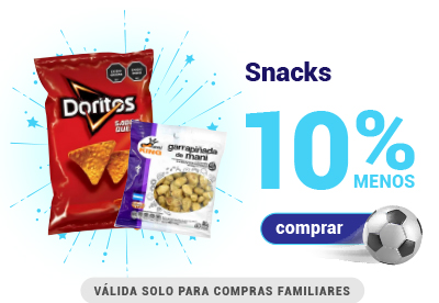 Goleada de ofertas - Snacks