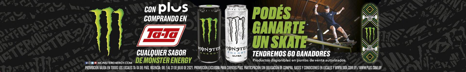 Banner Monster - Con Plus