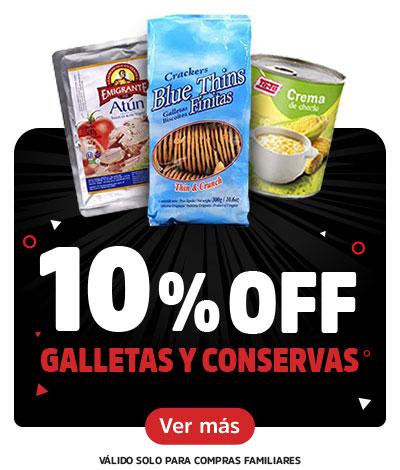 Black September - Galletas y Conservas